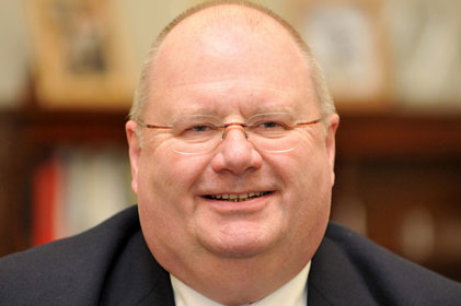 Eric Pickles: hired Zoe Thorogood as new special adviser