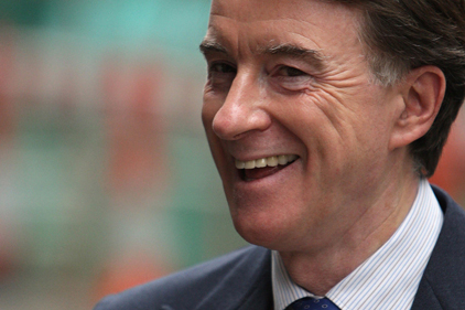 Peter Mandelson: launching new PR agency