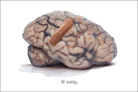 Rethink Mental Illness: a shot from a recent M&C Saatchi ad campaign