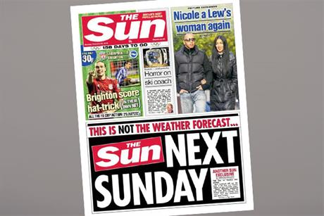 The Sun on Sunday: being billed as the seventh-day Sun, not a News of the World replica