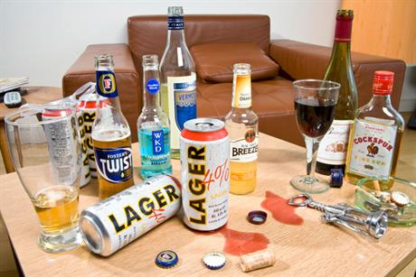 Alcohol concern: David Cameron wants to encourage the promotion of responsible drinking