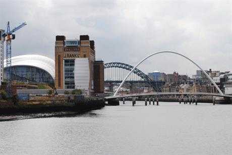 Newcastle: scene of Friday's 2012 North East PRide Awards