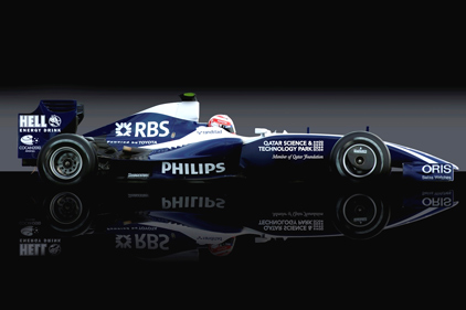 Fresh support: Williams F1