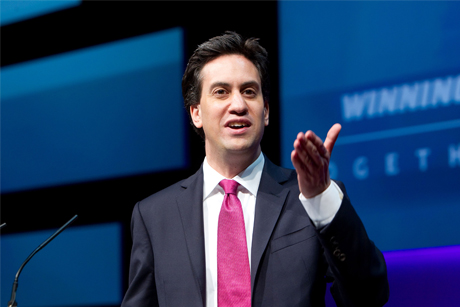 Big Idea: Ed Milliband (credit, Rex Features)