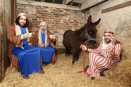 Stable diet: Bethlehem in Brighton