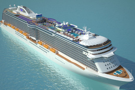 Cruise: Royal Princess illustration