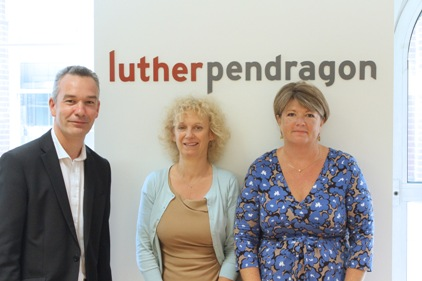 Acquisition: Simon Whale (MD, Luther Pendragon), Ruth Starling & Caroline Wagstaff (founders & co-owners of Lucid Communication)