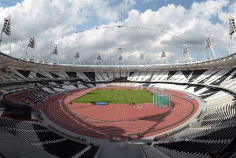 London 2012 stadium