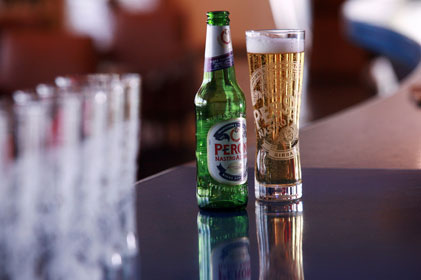 Premium beer: Peroni