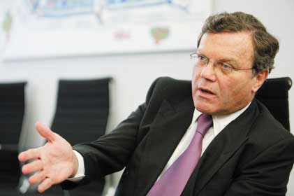 Sir Martin Sorrell: relocating WPP back to the UK