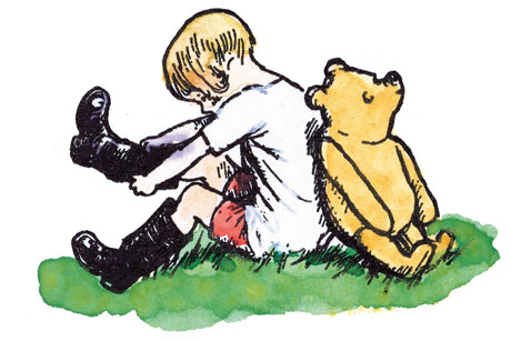 Winnie-the-Pooh: Frank landed digital work