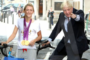 Boris Johnson backs RideLondon