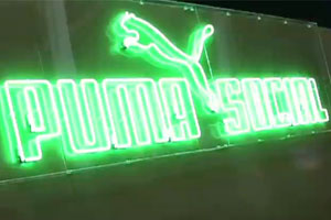 The Puma Social club offered relaxation and nightlife