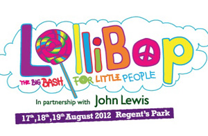 Mini high street for the little ones at Lollibop