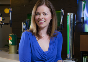 Louise Dennett, Heineken's brand manager