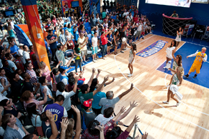 NBA House attracts more than 53,000 fans