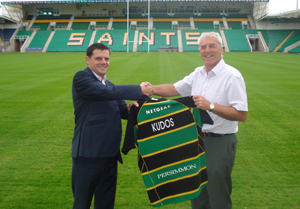Kudos wins Northampton Saints contract