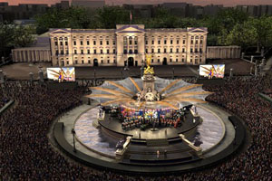 Jubilee concert to rock Buckingham Palace