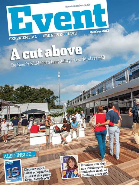 October issue of Event