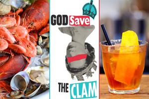 Win two tickets to God Save the Clam