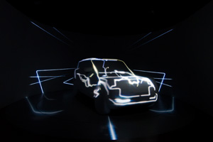 Imagination used 3D projection mapping and augmented reality to showcase the all-new Range Rover