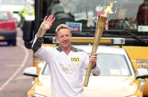 Torchbearer Paul Collingwood