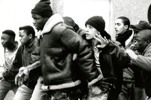 A scene from 1995 film La Haine. Credit Le Pacte
