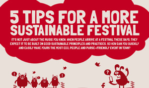 Help to make your festival more eco-friendly
