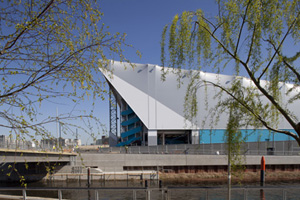 The Water Polo Arena was the final Olympic Park venue completed