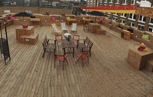 Red Roof Terrace in Shoreditch