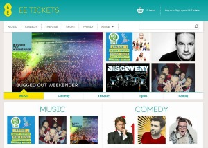 The new EE Tickets online service launched today