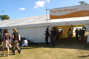 Piggotts supply marquees for Lambeth County Show: pictures