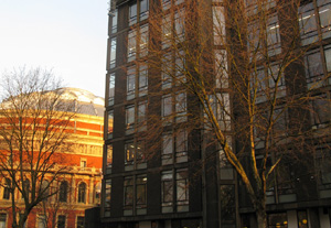 Royal College of Arts building, in Kensington