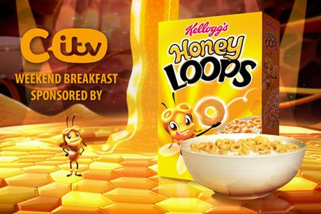 Kellogg's: sponsors CITV weekday afternoon and weekend breakfast programming