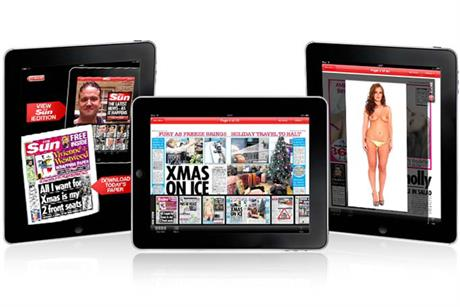 The Sun: to produce an iPad edition on Christmas Day