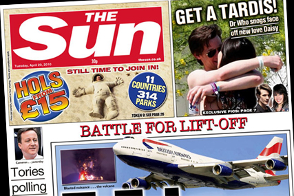 The Sun: pushes £15 holidays