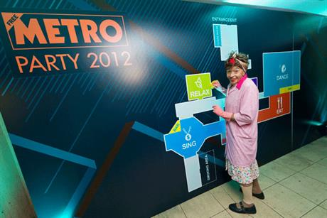 Mopping up: after Metro party at the Victoria House Basements