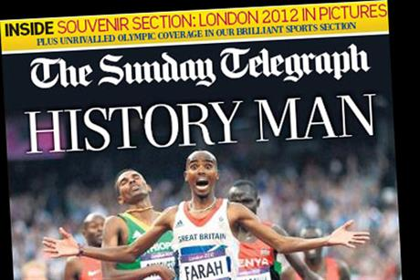 Sunday Telegraph: recorded its second successive monthly increase