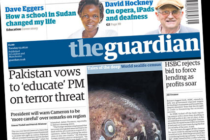 The Guardian: Charity appeals to help those affected by floods in Pakistan sweep the nationals