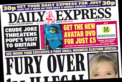 Daily Express: Avatar DVD tie up with Morrisons
