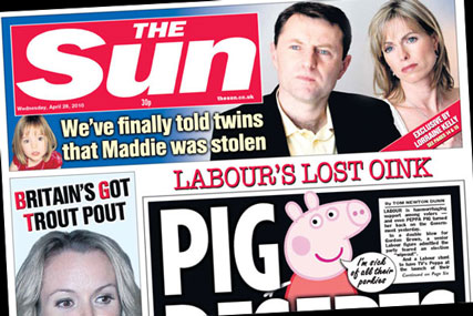 The Sun: Pepper Pig not a Labour Party member