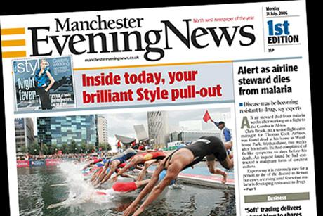 Manchester Evening News: Trinity Mirror title