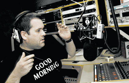 Moyles: breakfast radio show on BBC