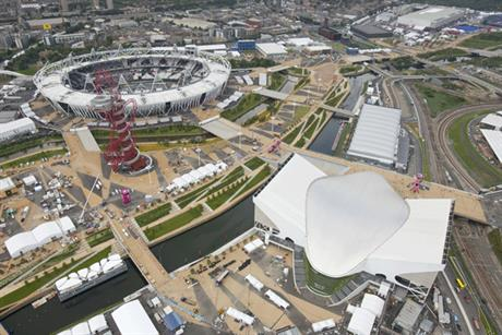 Olympic Park: BT Sports channel to broadcast from the venue (photo: Locog)