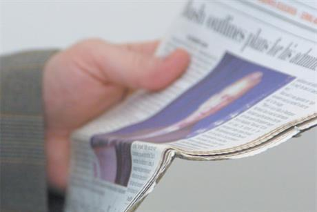 Newspapers: global ad market share swings towards digital