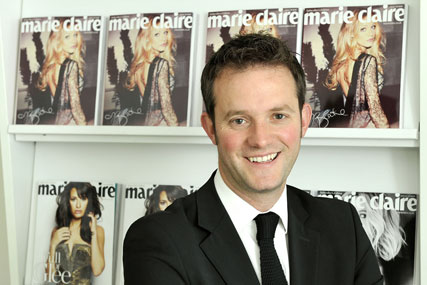 Richard Johnstone, publishing director, Marie Claire