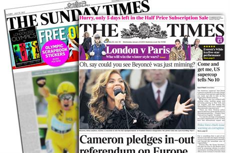 What is the likelihood of a Times and Sunday Times merger?