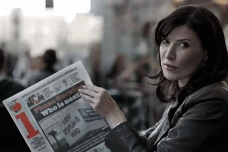 The i: comedian Ronni Ancona stars in the newspaper's latest TV campaign