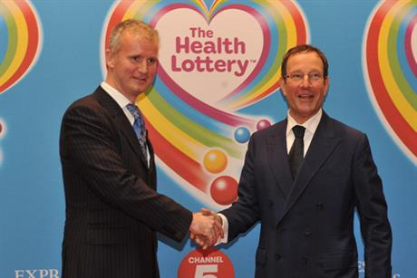 Richard Desmond: unveils Health Lottery plans