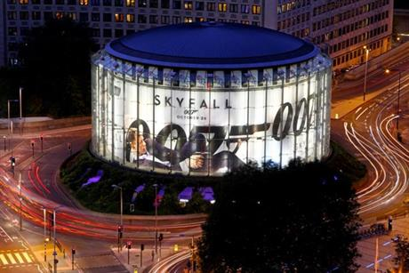 Skyfall: Ocean Outdoor wraps the IMAX in Waterloo